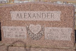 Laura B. <i>Roop</i> Alexander