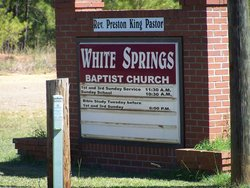 White Springs Baptist Church Cemetery