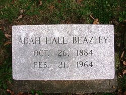 Adah M <i>Hall</i> Beazley