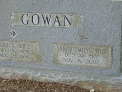 Sarah Emily <i>Tyree</i> Gowan