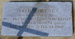 PFC Fred James Pierce