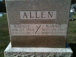 Anna Isabel Nanny <i>Hardin</i> Allen