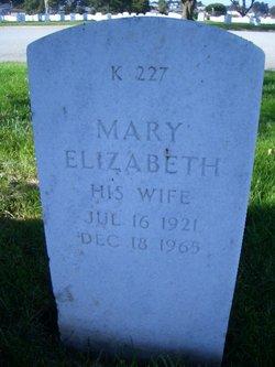 Mary Elizabeth Shelley