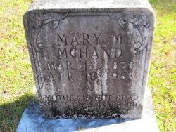 Mary Matilda <i>McKnight</i> McHand
