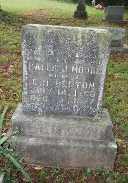 Sarah J. Sallie <i>Moore</i> Benton