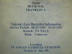 Franklin J Buckner