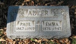 Emma <i>Petzold</i> Adler