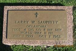 Larry W. Saupitty
