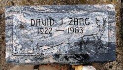 David Joseph Zang
