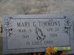 Mary Timmons