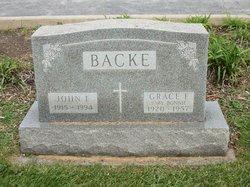 Grace F. <i>Wachter</i> Backe