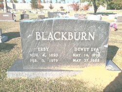 Dewey Eva <i>Robbins</i> Blackburn