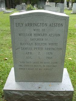 Lily <i>Arrington</i> Alston