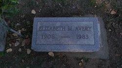 Elizabeth M Avery