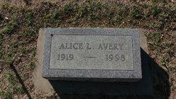 Alice L Avery