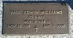 Paul Edwin Williams