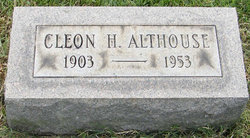 Cleon H Althouse