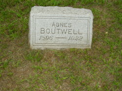 Agnes <i>Anderson</i> Boutwell