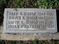 Mary C <i>Hughes</i> Bishop