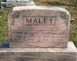 Jennie May <i>Smith</i> Maley