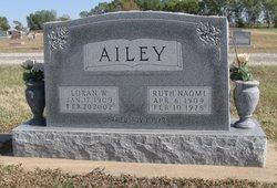 Ruth Naomi <i>Leonard</i> Ailey