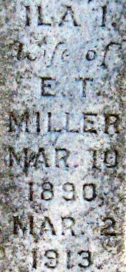 Ila I Miller