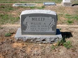 Willie A Miller