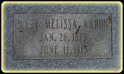 Melissa Ann <i>Combs</i> Aaron