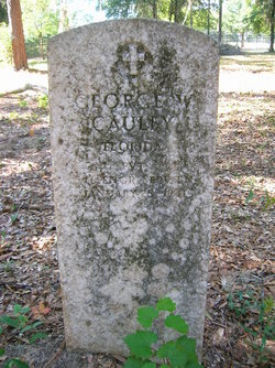 Pvt George Washington Cauley