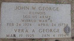 John W Bill George