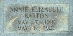 Annie Elizabeth Barton