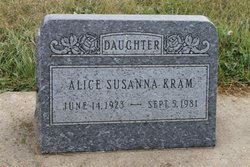 Alice Susanna Kram