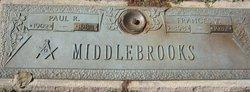 Frances T Middlebrooks