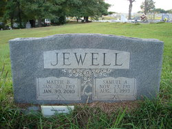 Mattie Norie <i>Hendrix</i> Jewell