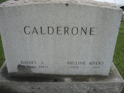 Pauline Maud <i>Myers</i> Calderone