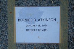Bernice <i>Barnhill</i> Atkinson
