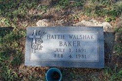 Hattie <i>Walshak</i> Baker