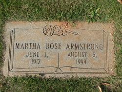 Martha Rose <i>Layton</i> Armstrong