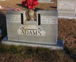 Edward Vander Ed Adams