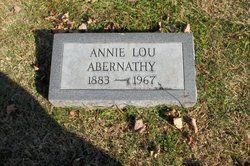 Annie Lou <i>Calaham</i> Abernathy