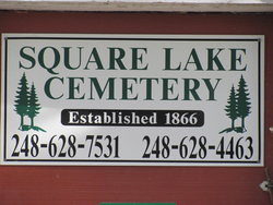 Square Lake Cemetery