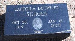 Captoila Azel <i>Decker</i> Schoen