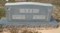Della <i>Williams</i> Lee