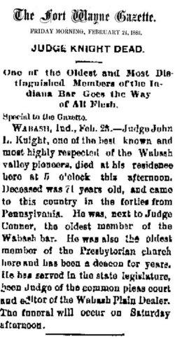 Judge John L. Knight