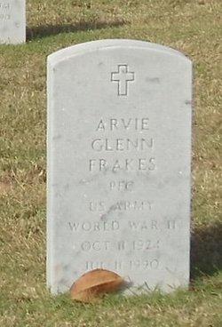 Arvie Glenn Frakes