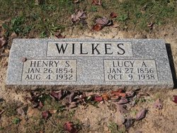 Lucy Anna <i>Woodford</i> Wilkes