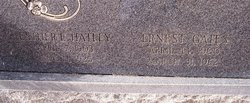 Esther E. <i>Hatley</i> Barringer