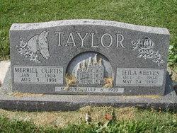 Leila Minerva <i>Reeves</i> Taylor