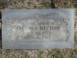 Freeda C. <i>White</i> Mecham