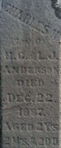 Charles V Anderson